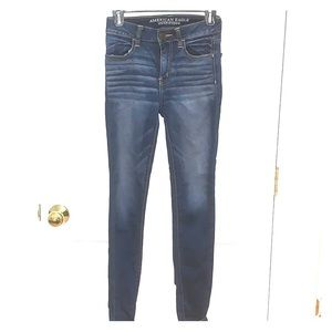 DARK DENIM SKINNY JEANS